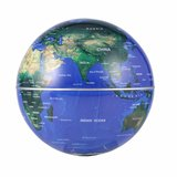 Zwevende wereldbol ø 9 cm met Oval-frame_