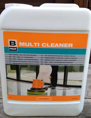 B-Prof multicleaner Professionele vet-, was- en vuiloplosser - 5 liter